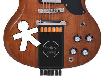 EndlesStrings, un accesorio que suministra cuerdas nuevas de forma continua a nuestra guitarra