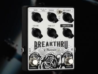 Thermion Breakthru, un pedal con dos canales de overdrive estilo Vox AC30