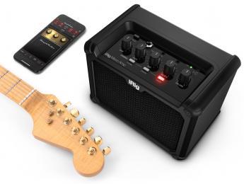 iRig Micro Amp de IK Multimedia, amplificador portátil de 15W con interfaz iOS/USB