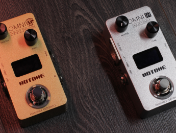Hotone Jogg, Omni IR y Omni AC, un pedal interface de audio, un IR Loader y un simulador de acústica