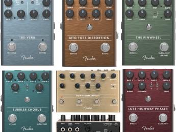 Fender amplía su serie de efectos con 5 nuevos pedales para guitarra y uno para bajo