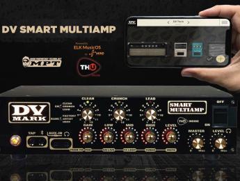 El nuevo Smart Multiamp de DV Mark permite usar el móvil o tablet como pantalla y control