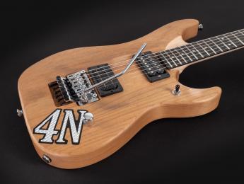 Washburn lanza una réplica del modelo 4N que Nuno Bettencourt usa en directo