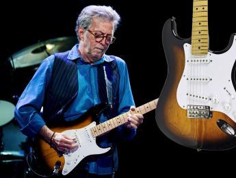 Una Fender Stratocaster tocada por Eric Clapton, a la venta en Amazon por 180.000 dólares