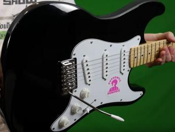 Reaparece el rarísimo prototipo de la Gibson Jimi Hendrix Signature
