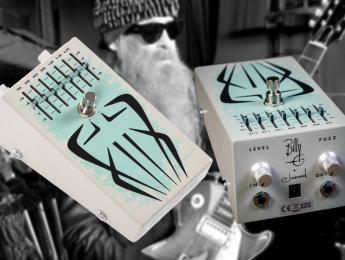 Siete Santos Octavio Fuzz, el pedal signature de Billy Gibbons incluye ecualizador de 7 bandas