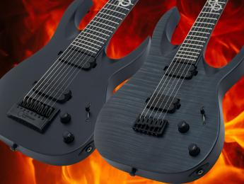 Solar Guitars presenta su primera guitarra de 8 cuerdas y añade una nueva barítona