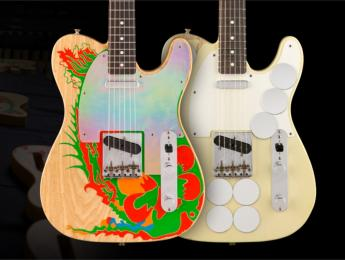 Ya disponibles las Fender Telecaster Mirror y Dragon de Jimmy Page