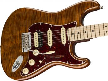 Fender estrena la Flame Maple Top Stratocaster, la primera de la nueva Rarities Collection