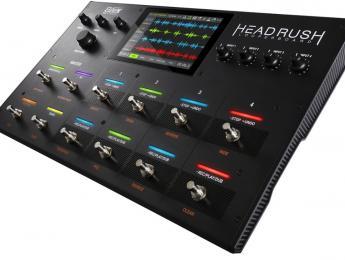 """Headrush Looperboard, pedalera looper estéreo de 4 pistas con pantalla táctil de 7"""""""