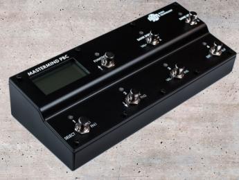 Mastermind PCB/6X, el nuevo loop switcher de pedales y controlador MIDI de RJM