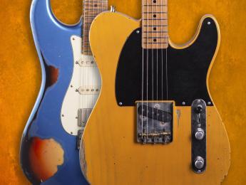 Una Strat y una Tele en la nueva Allen Hinds Xotic California Classic Series Collection