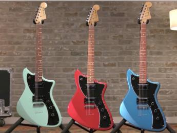 Fender Meteora HH: Ya está disponible el modelo más original de la serie Alternate Reality