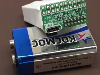 Añade respuestas a impulsos a cualquier pedal con este módulo de AMT del tamaño de una pila