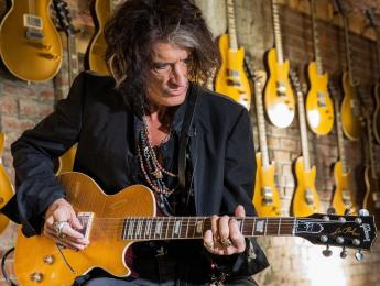 "Gibson Custom Shop anuncia oficialmente la Joe Perry ""Gold Rush"" Les Paul Axcess"