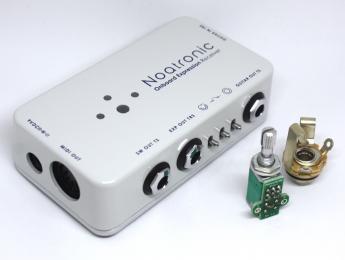 Noatronic Onboard Expression: Completo control MIDI desde el potenciómetro de tu guitarra