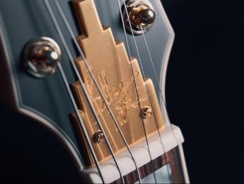 D'Angelico Deluxe Bob Weir Bedford, una guitarra sólida con pastillas Lollar y Seymour Duncan P90