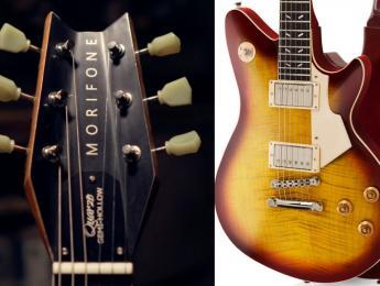 Con su innovadora pala Aileron, el modelo Quarzo de Morifone reinterpreta la Gibson Les Paul del 59