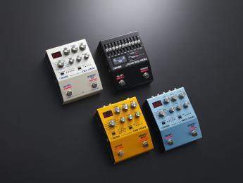 Boss DD-200, OD-200, EQ-200 y MD-200, nueva línea de pedales compactos con memorias