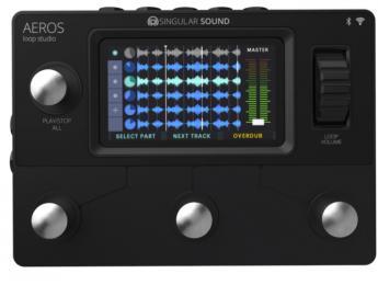 Aeros Loop Studio: Looper estéreo con pantalla táctil, 6 pistas y hasta 48 h de grabación