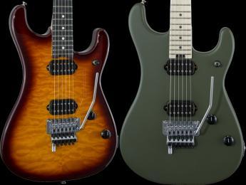 EVH lanza la nueva gama de guitarras 5150 Series Deluxe y Standard