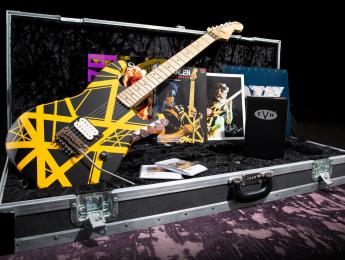 """EVH celebra 40 años del álbum """"Van Halen II"""" con una réplica de la Bumblebee del 79"""