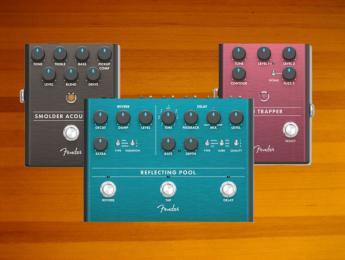 Fender amplía su gama de pedales con 6 nuevos modelos