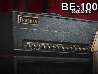 BE100 Deluxe, ya disponible el esperado cabezal estilo Plexi de Friedman