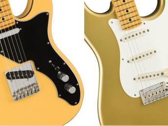 Nuevas Fender signature Britt Daniel Tele Thinline y Lincoln Brewster Stratocaster