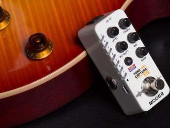El nuevo pedal Tone Capture GTR de Mooer permite clonar hasta 7 guitarras diferentes