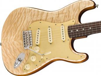 Josh Smith toca la Fender Quilt Maple Top Stratocaster, la Rarities Collection de agosto