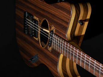 Contour 'S', el innovador híbrido de guitarra eléctrica y electroacústica de Gillett