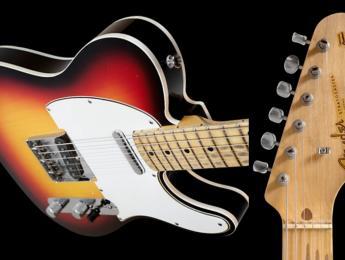 Fender Custom Shop Eric Clapton Blind Faith, réplica de su Telecaster con mástil de Strato
