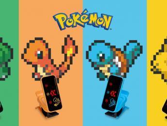 ¡Un afinador salvaje apareció! Korg y Pokémon, juntos en sus nuevos afinadores y metrónomos
