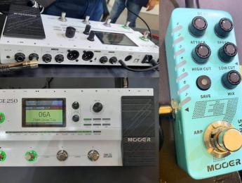 Mooer muestra un prototipo de la GE 250 y un pedal sintetizador en Music China 2019 [Actualizado]