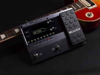 Primer vistazo a la Mooer GE 150: multiefectos compacto con pantalla a color