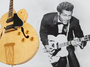Gibson lanza oficialmente la réplica de la ES-350T usada por Chuck Berry