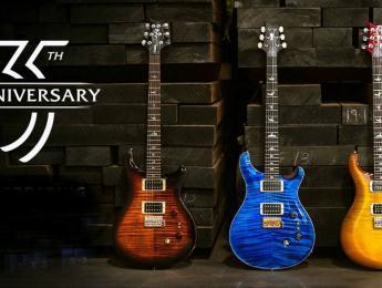 PRS celebra su 35 aniversario con versiones Core, S2, y SE del modelo Custom 24