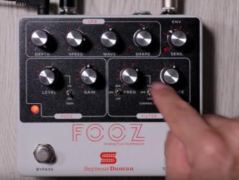 Review de Seymour Duncan Fooz: sonidos de fuzz con con sabor a sinte