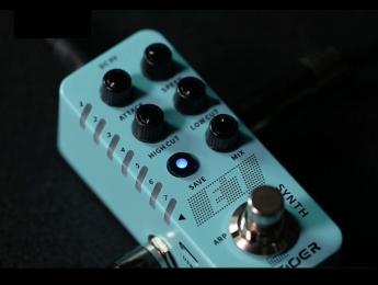 Mooer E7 Synth: 7 sonidos de sintetizador en un micro pedal de guitarra