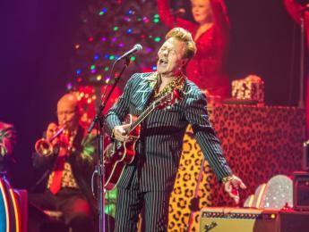 Brian Setzer cancela su tradicional gira navideña a causa de un grave caso de tinnitus