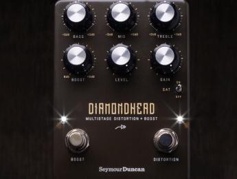 Seymour Duncan Diamondhead, pedal de distorsion + boost orientado al metal y hard rock