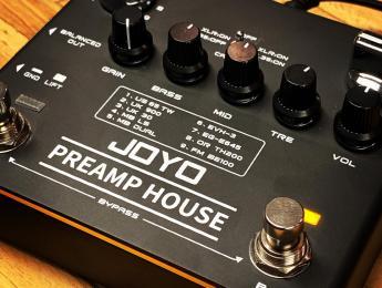 Joyo Preamp House, un previo en formato pedal con 18 simulaciones de amplificador
