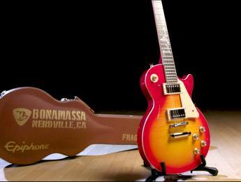 """La 7ª Epiphone signature de Joe Bonamassa es esta 1960 Les Paul Standard """"Norm Burst"""""""