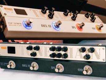 Joyo ToneChain TC-1 y TC-2, dos nuevos multiefectos tipo Strip orientados a rock y metal