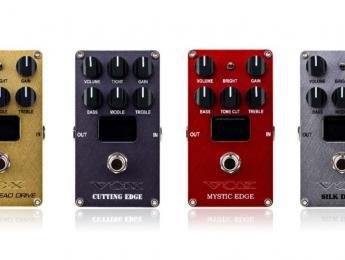 Vox Valvenergy: cuatro pedales con válvulas Nutube que emulan amplificadores famosos