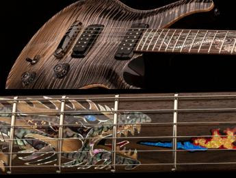 PRS anuncia la exclusiva Private Stock 35th Anniversary Dragon