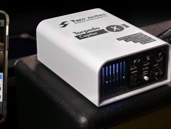Torpedo Captor X, la DI/Loadbox de Two Notes, ahora con respuestas a impulsos