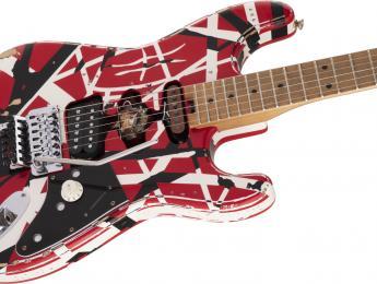 EVH Striped Series Frankie, una versión un poco más asequible de  la Frankenstrat de Eddie Van Halen