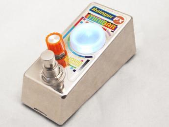 Rainger FX Minibar, un pedal que funciona con líquido: whisky, refrescos, café...tú decides